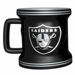 Raiders 2oz Mini Sculpted Mug