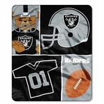 Raiders 40x50 Silk Touch Baby Blanket