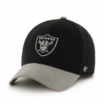 Raiders '47 Brand Juvenile Short Stack Cap