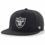 Raiders '47 Brand Lil Shot Captain Cap