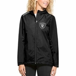 Raiders '47 Brand Women's React Jacket
