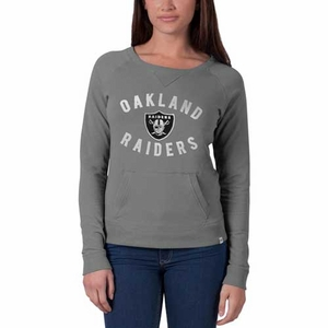 Raiders '47 Brand Womens On Campus Crew - Click to enlarge