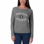 Raiders '47 Brand Womens On Campus Crew
