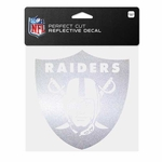Raiders 6x6 Perfect Cut Chrome Decal