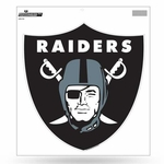 Raiders 8 Inch Shield Logo Vinyl Decal