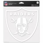 Raiders 8 x 8 Perfect Cut Shield Decal