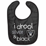 Raiders All Pro Baby Bib