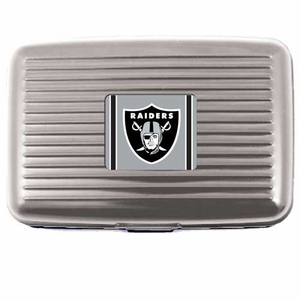 Raiders Aluminum Wallet - Click to enlarge