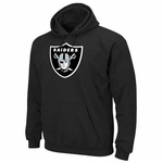 Raiders Black Logo Tech Fleece