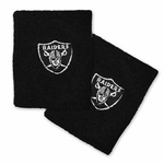 Raiders Black Wristband