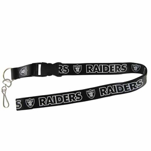 Raiders Blackout Lanyard - Click to enlarge