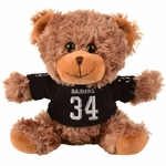 Raiders Bo Jackson Seated Jersey Bear
