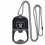 Raiders Bottle Opener Necklace