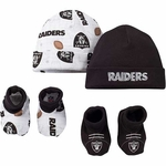 Raiders Boy's Cap and Bootie Set