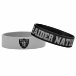 Raiders Bulk Bandz Two Pack