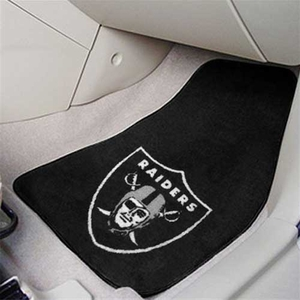 Raiders Car Carpet Mat Set - Click to enlarge