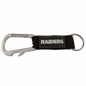 Raiders Carabineer Keychain - Click to enlarge
