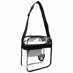 Raiders Clear Cross body Bag