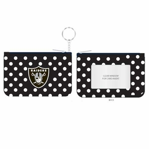 Raiders Coin Purse Key Chain - Click to enlarge