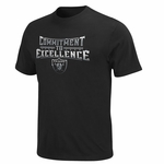 Raiders Commitment To Excellence Tee