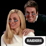 Raiders Eye Black Strips