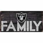 Raiders Family Wooden Sign