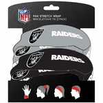 Raiders Fan Stretch Wrap Two Pack