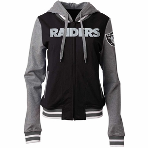 Raiders French Terry Hood - Click to enlarge