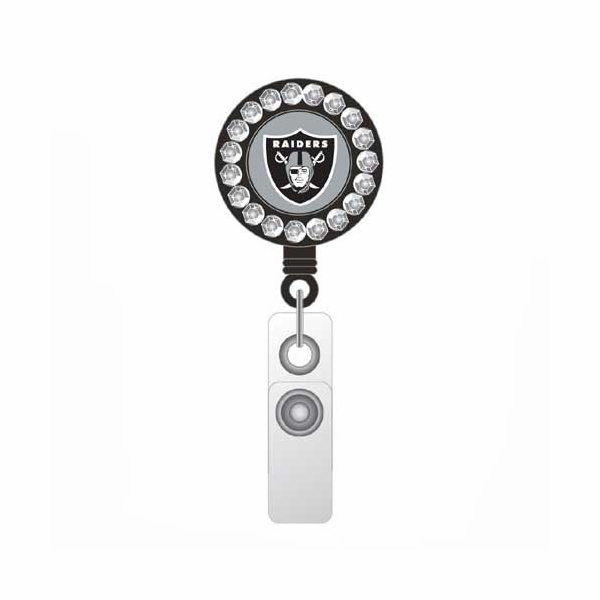 Oakland Raiders Gem Badge Reel
