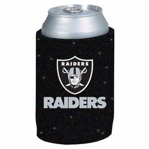 Raiders Glitter Can Coolie - Click to enlarge
