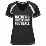 Raiders Go For Two V Plus Size Tee
