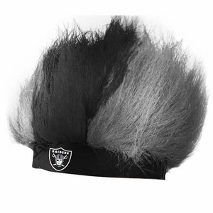 Raiders Headband Wig - Click to enlarge