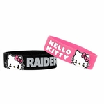 Raiders Hello Kitty Two Pack Bands