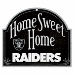Raiders Home Sweet Home Sign
