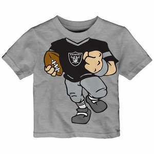 Raiders Infant Football Dreams Short Sleeve Tee - Click to enlarge