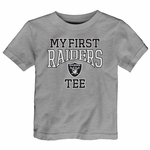 Raiders Infant My First Steel Tee