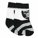Raiders Infant Stripe Socks