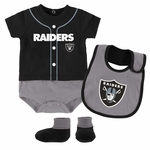 Raiders Infant Tiny Player Set