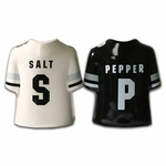 Raiders Jersey Salt and Pepper Shakers