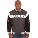 Raiders JH Design Reversible Wool Jacket