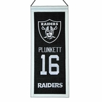 Raiders Jim Plunkett Mini Legacy Banner