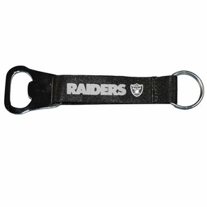 Raiders Lanyard Bottle Opener Keychain - Click to enlarge