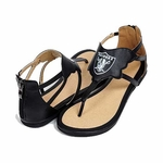Raiders Leather Sandal