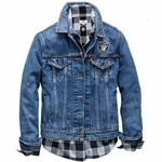 Raiders Levi's Women's Denim Jacket
