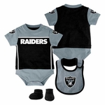 Raiders Little Jersey Set