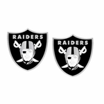 Raiders Logo Post Earrings