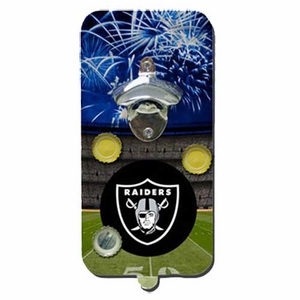 Raiders Magnetic Bottle Opener - Click to enlarge