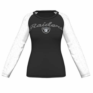 Raiders Majestic Coin Toss IV Long Sleeve - Click to enlarge