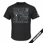Raiders Majestic Real Men III Tee