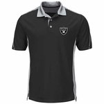 Raiders Majestic To The 10th Power Performance Polo
